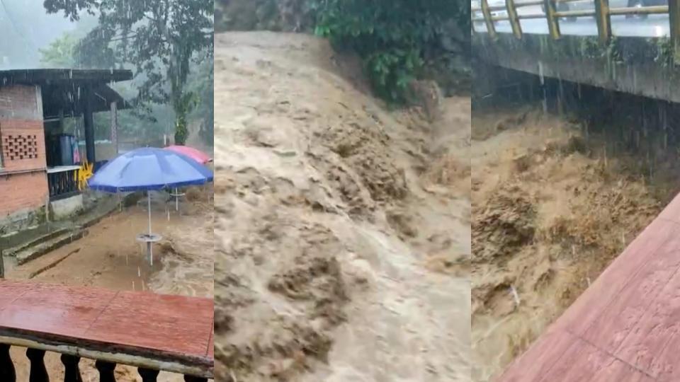Emergencia en Los Tubos: desbordamiento de una quebrada en Buenaventura