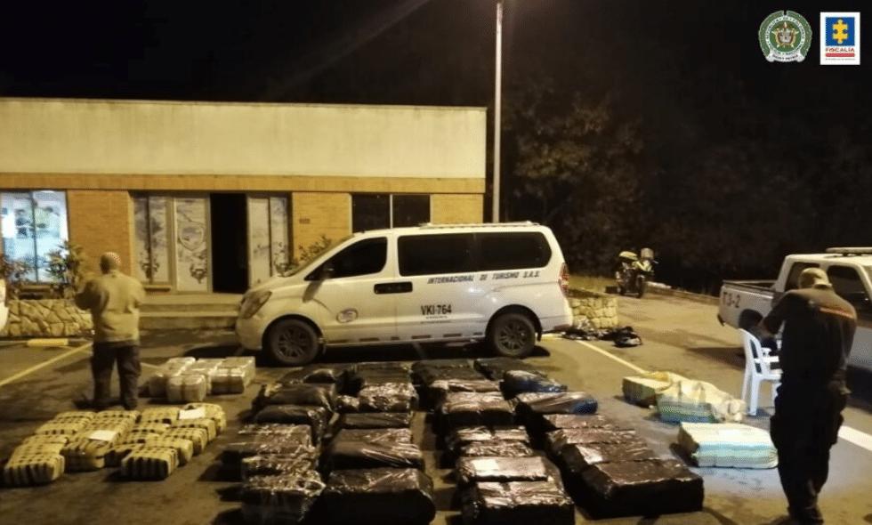 Cárcel para hombre que transportaba 228 kilos de marihuana ocultos en una planta eléctrica