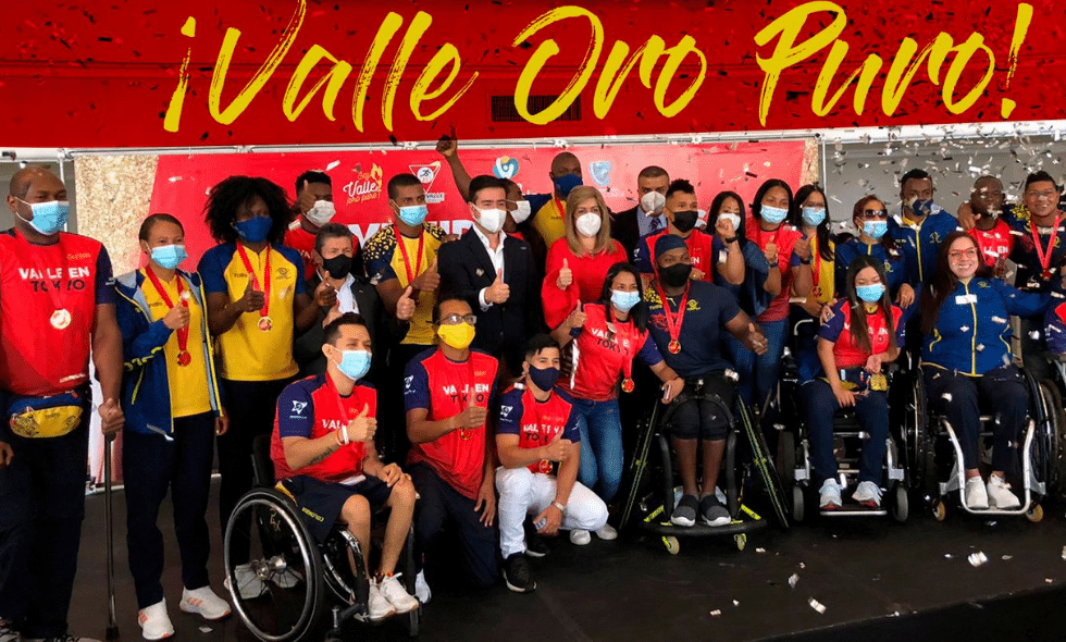 Deportistas de los Juegos Olímpicos y Paralímpicos ganan medalla 'Valle Oro Puro'