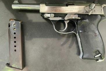 Caen dos sujetos en Cali portando arma de la Segunda Guerra Mundial