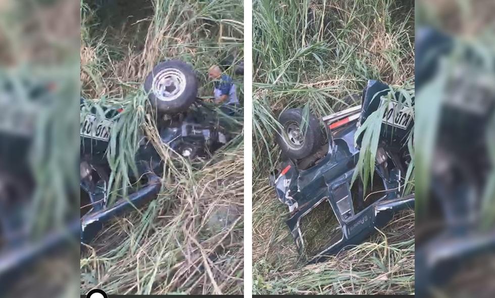Accidente en Terrón Colorado: vehículo guala cayó a un abismo