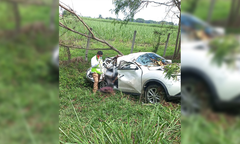 Accidente en variante de El Cerrito deja a una persona muerta
