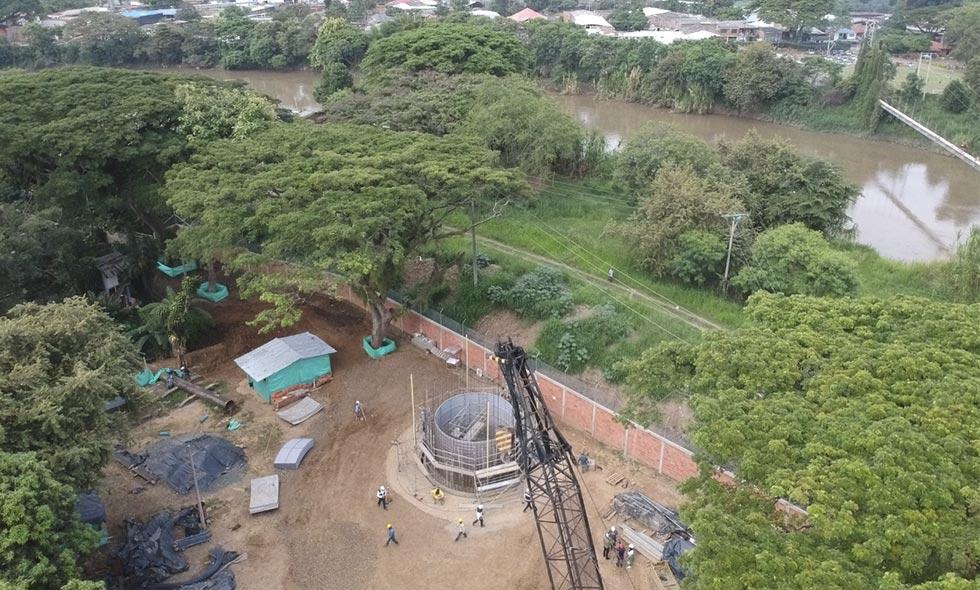 Avanzan obras en Puerto Mallarino para brindar agua de mejor calidad