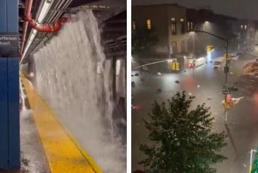 Al menos 11 muertos deja el paso de tormenta Ida por Nueva York y Nueva Jersey en EEUU