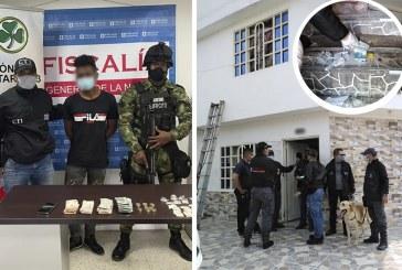 Alias 'Chamo' es acusado de distribuir drogas desde una casa de El Rodeo