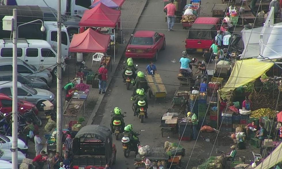 Autoridades refuerzan seguridad en la galería de Santa Elena