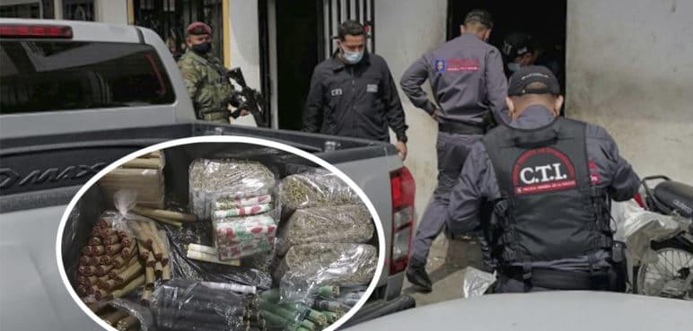 Caen en barrio La Isla los de 'La 40', presunta banda de microtráfico