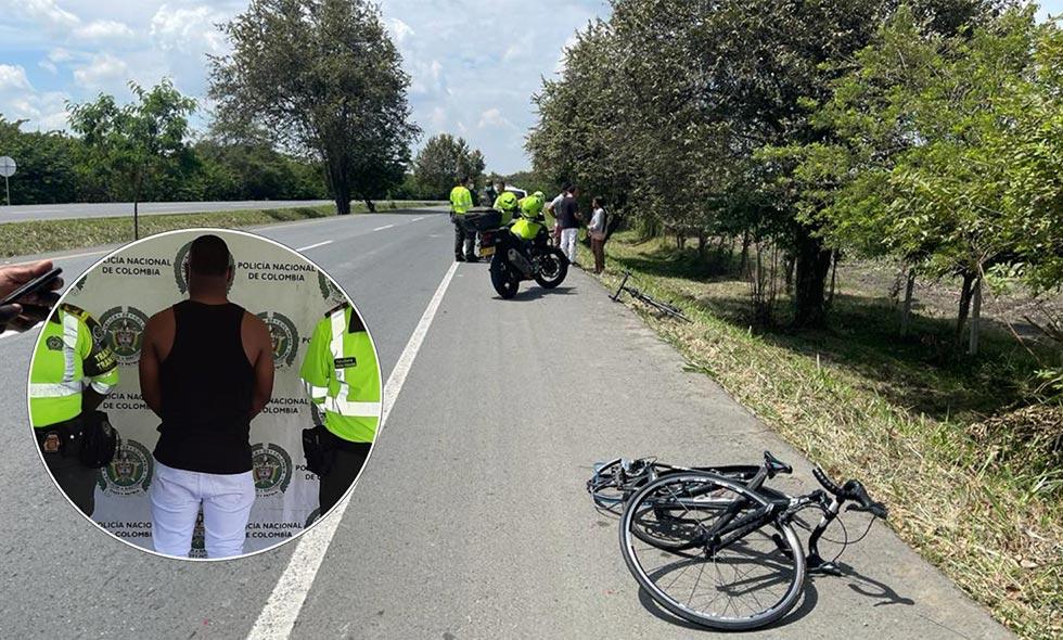 Hombre embriagado arrolló a cinco ciclistas en vía Palmira - El Cerrito