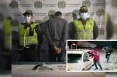 Capturan sujeto que estaba robando en estación de gasolina de Cali