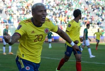 Colombia logró un empate tras enfrentar a Bolivia y a la altura de La Paz