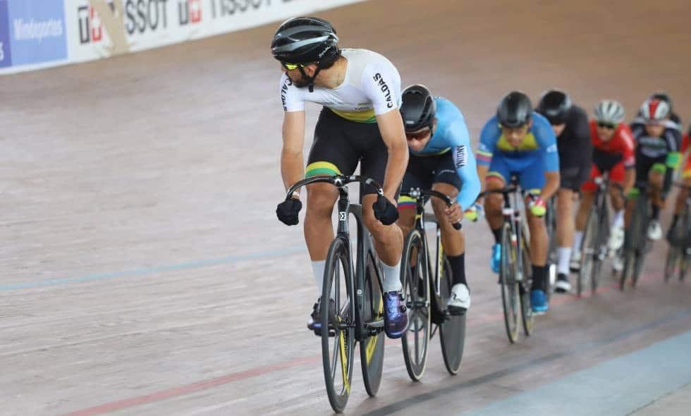 Colombia se prepara para la Copa de Naciones de ciclismo de pista