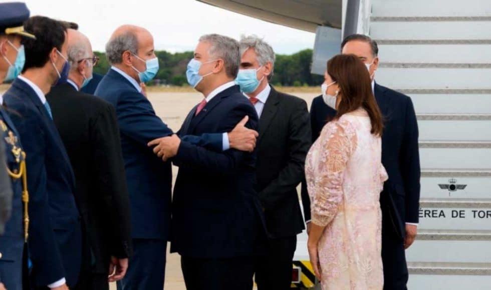 Duque llega a España con intención de fortalecer la economía de Colombia