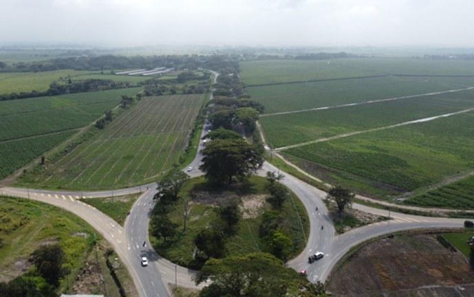 Entregan 3,5 kilómetros de doble calzada en la vía Cali – Candelaria