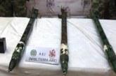 Hallan caleta de las disidencias de las Farc en el Cauca con tres misiles