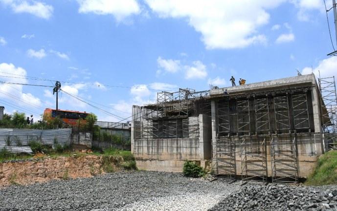 Obras del nuevo puente de Juanchito presentan avances del 50%