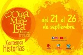 Inicia el primer día del Festival de Literatura 'Oiga Mire Lea' en Cali