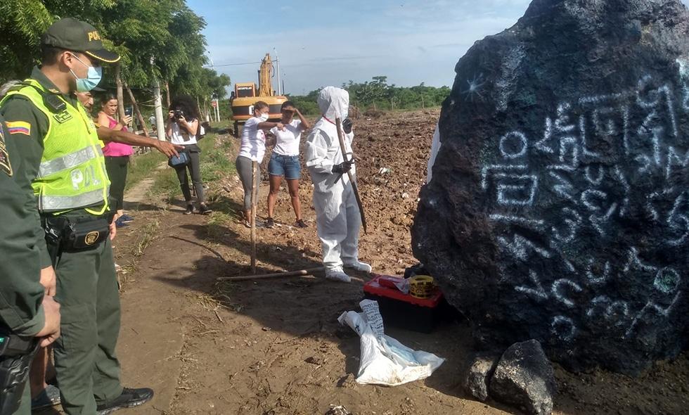 """La verdad tras el misterioso hallazgo de un """"meteorito"""" en Barranquilla"""
