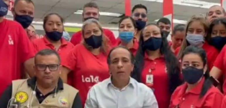 Almacenes La 14: Trabajadores piden más atención ante la crisis