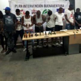 Desmantelan banda criminal 'La Local', de Buenaventura