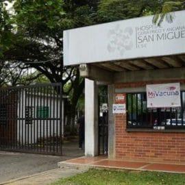 Nuevo punto de vacunación covid en el Hospital Geriátrico San Miguel