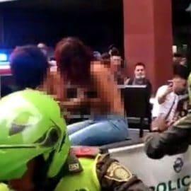 Dos mujeres fueron brutalmente golpeadas en el centro de Cali tras cometer un hurto