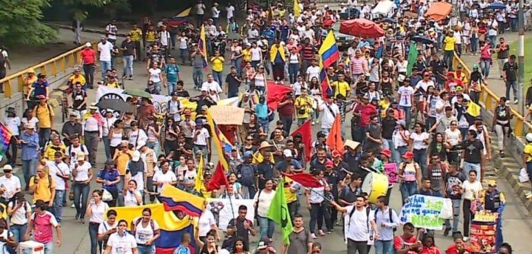 Este es el recorrido de las marchas convocadas para este 20 de octubre