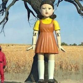 La muñeca del 'Juego del Calamar' es real y la puedes visitar