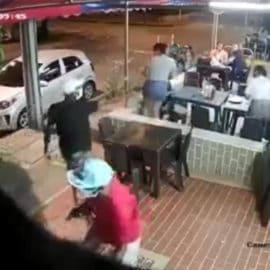 Video: Atraco masivo en restaurante de Quintas de Don Simón