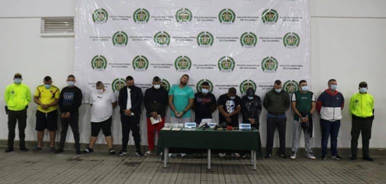 Cayó banda 'La parabólica', estructura criminal que operaba en Cali