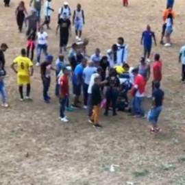 Balacera durante un partido de fútbol deja dos muertos en Terrón Colorado