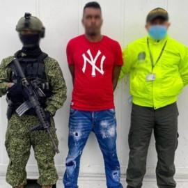 Capturado alias 'Chino', presunto líder de una organización de narcotráfico