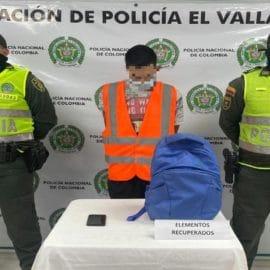 Capturado hombre que robó a pasajeros en bus de transporte público