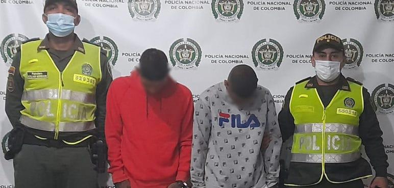 Capturan a dos sujetos por robar a conductores de carros en oeste de Cali