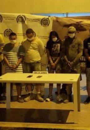 Cárcel a 'Los de la Loma', presuntos traficantes de drogas en Cartago