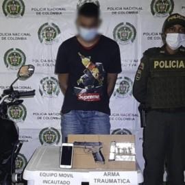 A la cárcel presunto asaltante de una mujer en la vía Cali – Mediacanoa