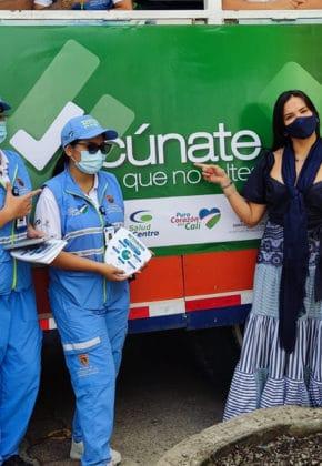 'Chiva de la Vacunación': nueva estrategia de la Alcaldía contra el covid