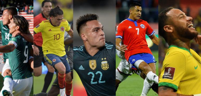 Colombia empató y así está la tabla de posiciones de las Eliminatorias