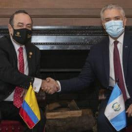 Colombia y Guatemala unirán fuerzas para la lucha contra las drogas