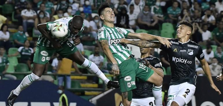 Deportivo Cali no pudo mantener la ventaja ante Nacional y terminó empatando