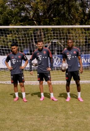 El rey de los challenges en el Bayern World Squad