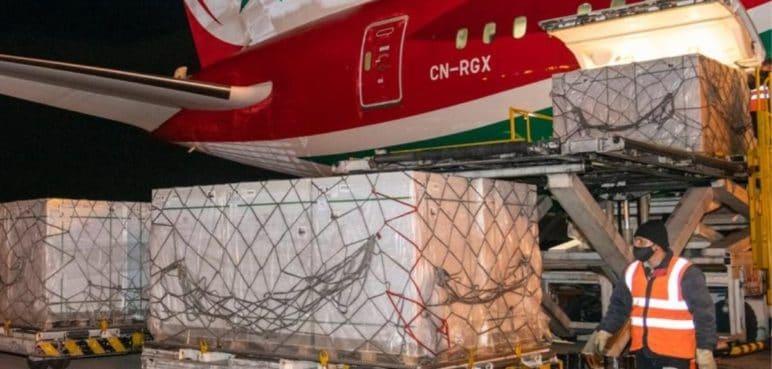 Este lunes llegaron a Colombia 2.260.800 dosis de vacuna de Sinovac