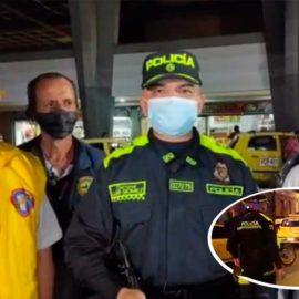 El gremio de taxistas y la Policía se unen contra los delincuentes en Cali