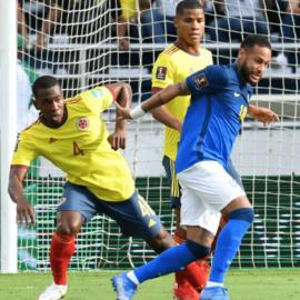 La Selección Colombia logró un punto de oro en el Metropolitano