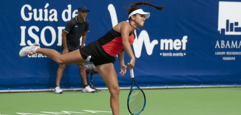 María Camila Osorio a puertas del top 50 en la WTA