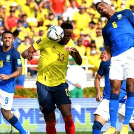 Los momentos destacados del empate entre Colombia y Brasil en el 'Metro'
