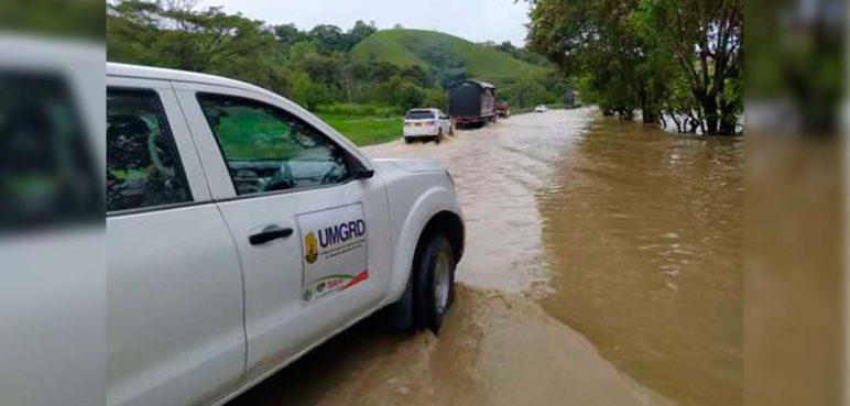 Nueve municipios en situación de emergencia por intensas lluvias en el Valle