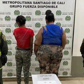 Capturan a dos mujeres señaladas de robar en el Mío