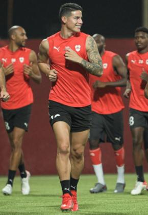 ¡Por fin! Ya hay fecha y hora para el debut de James en Qatar