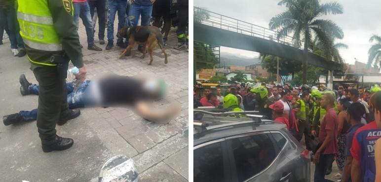 Procedimiento policial donde murió presunto ladrón terminó en pelea