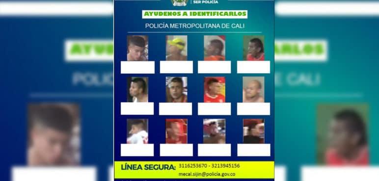 Buscan a 12 hinchas del América como presuntos autores de desmanes en el Pascual